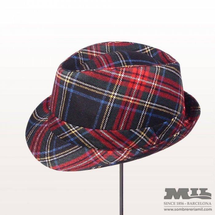 sombrero vintage escocés