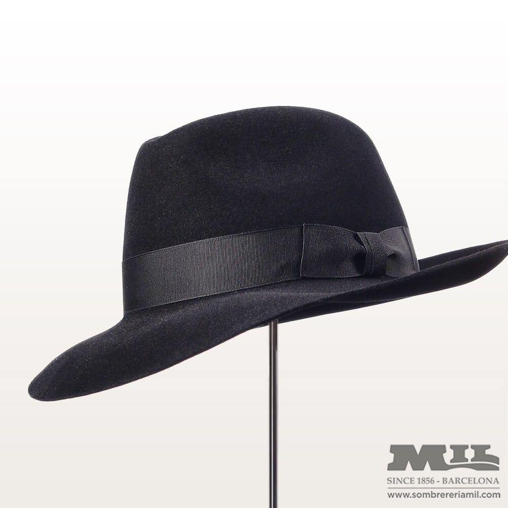 Sombrero de invierno estilo fedora de gran calidad 94346112cd6