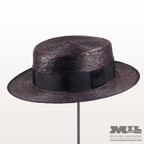 Sombreros estilo Canotier - Sombrereria Mil ff7bf5e9019