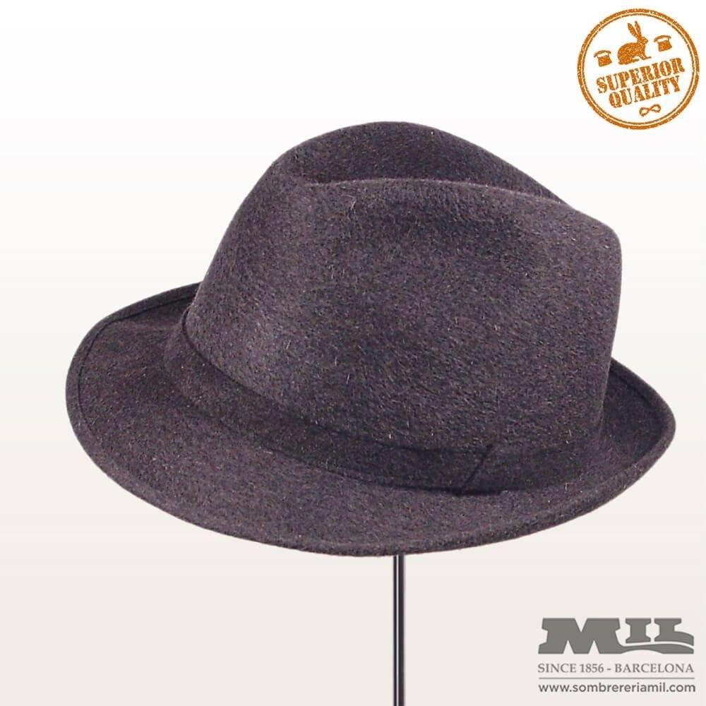 46b3b5d4a87ad Sombrero de invierno para hombre de fieltro de pelo jpg 1000x1000 Fieltro  gorros para hombres