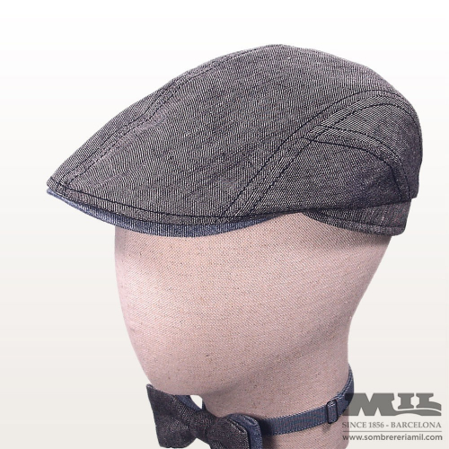 6339e84e49d Men s summer flat cap for lightweight and foldable English style