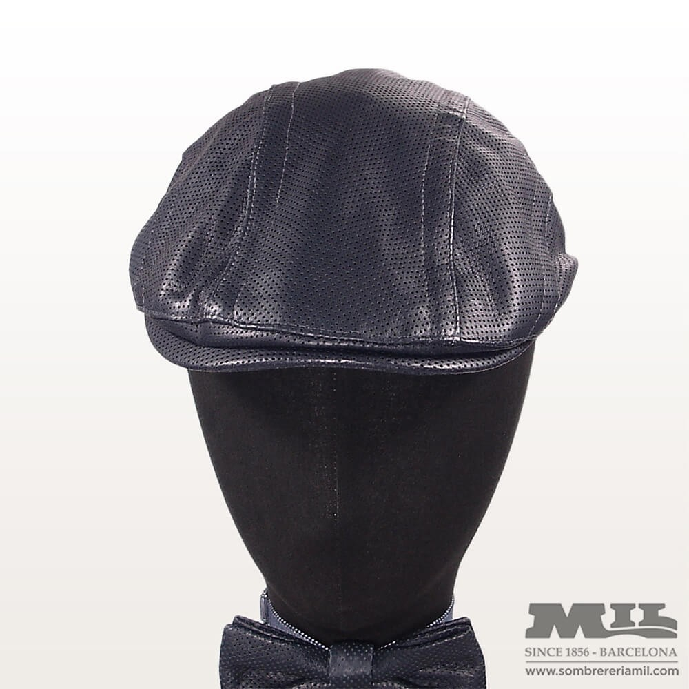 Gorra de piel para hombre para verano Marone muy transpirable 90c557824eb