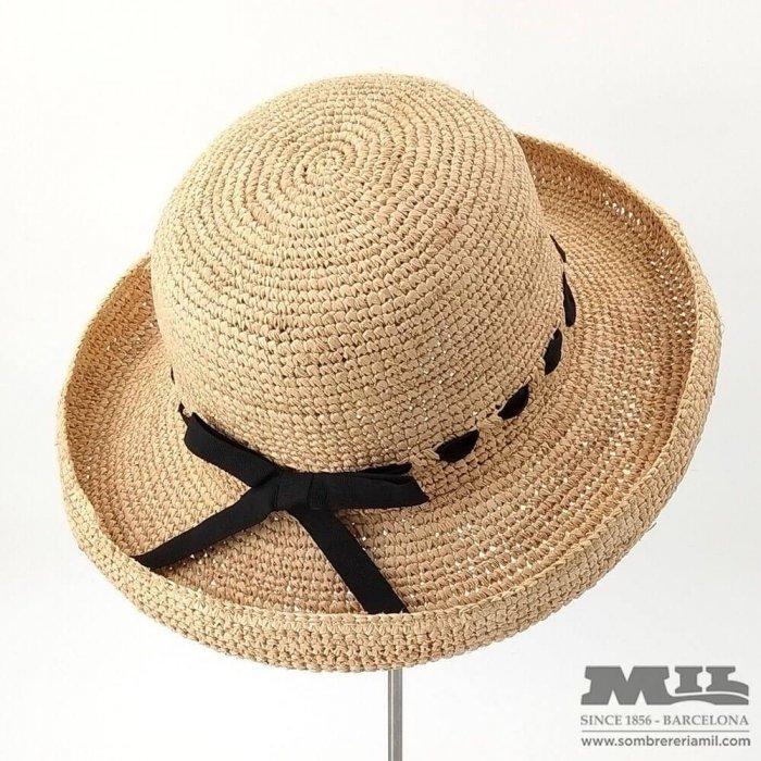 Sombrero Rafia Pamela
