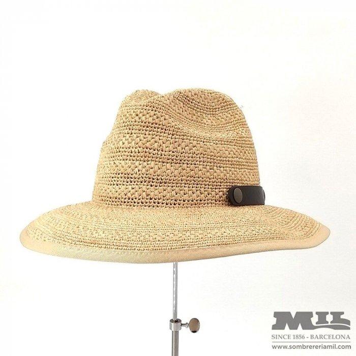 Sombrero Rafia Natural