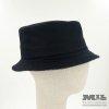 Barret negre Tweed Verbano