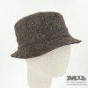 Sombrero marrón Tweed Verbano