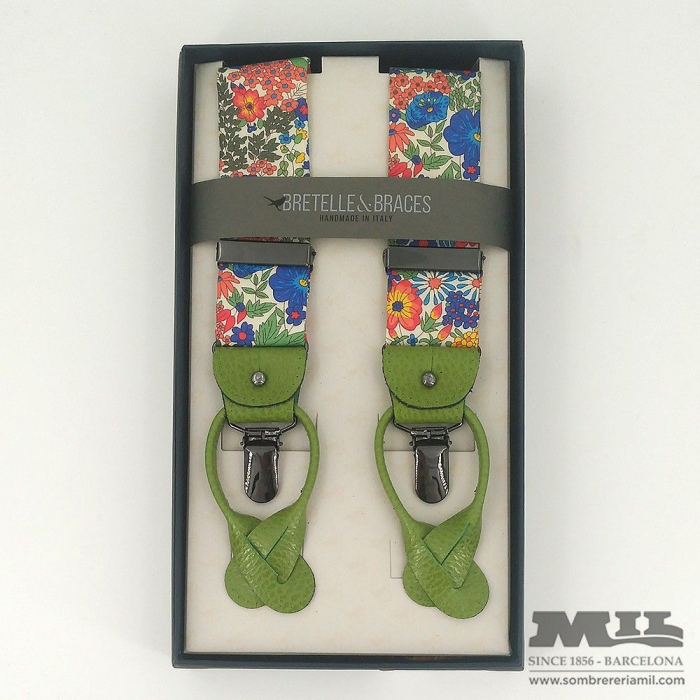 Tirantes Bretelle&Braces verde primavera