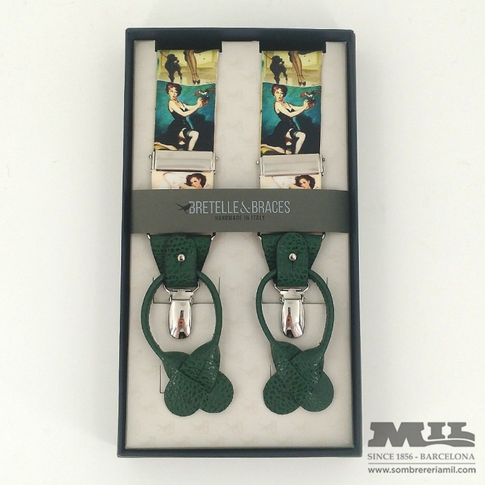 Tirantes Bretelle&Braces mujeres vintage