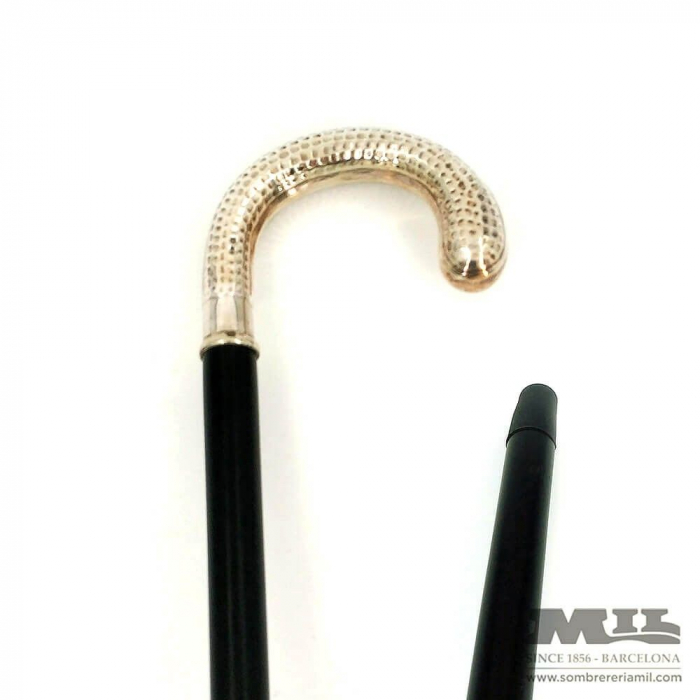 Alpaca curved cane