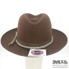Sombrero Fedora marrón con cuerda