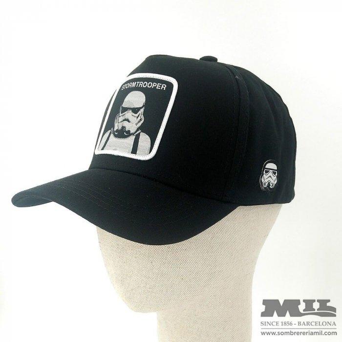 Gorra Trucker Stormtrooper negra