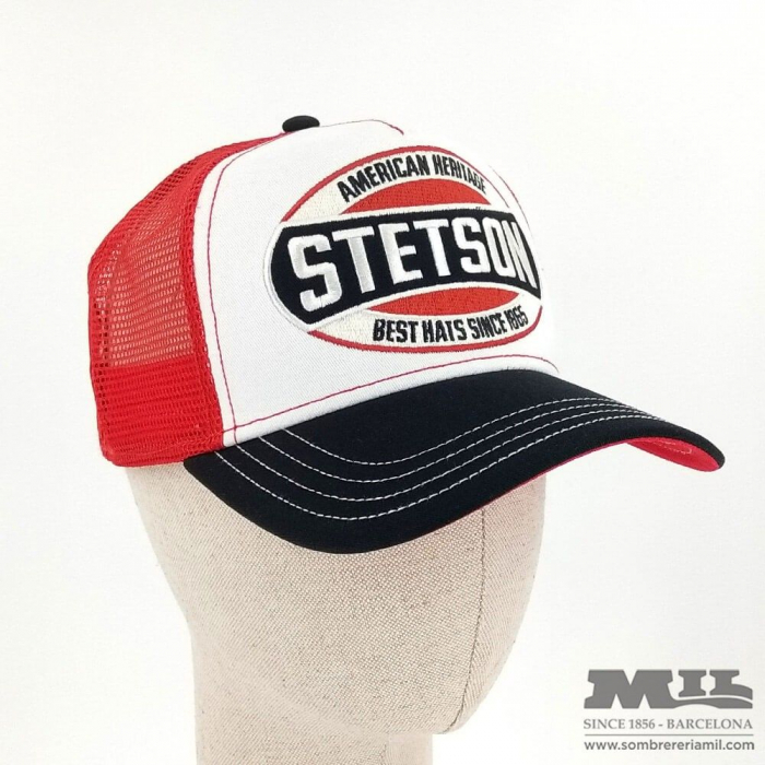 Gorra Stetson Trucker BBQ