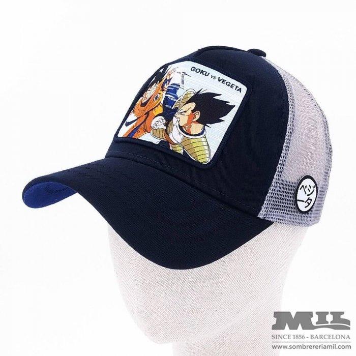 Gorra Trucker Goku vs Vegeta
