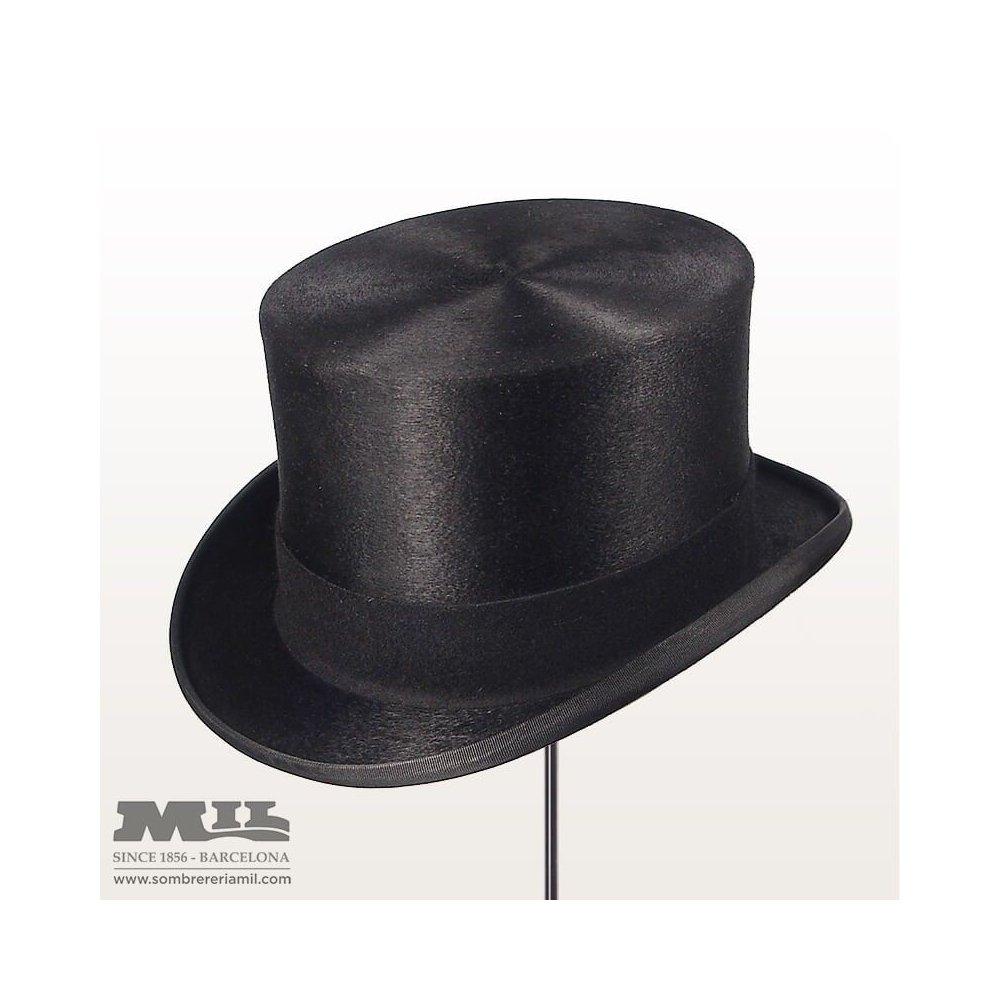 sombreros de copa y chisteras en Barcelona Sombrereria Mil 2fa4a2399da