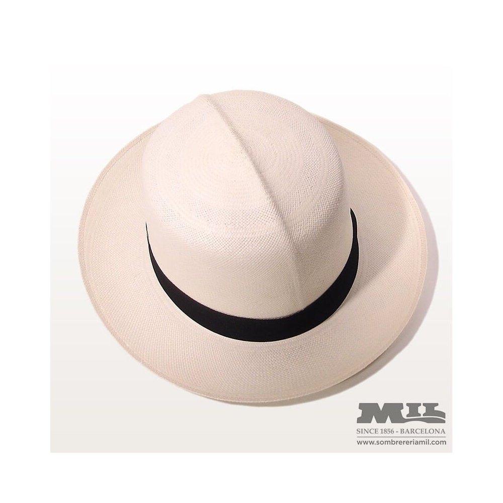 sombrero panama copa optima en sombrereria mil aa83075707a