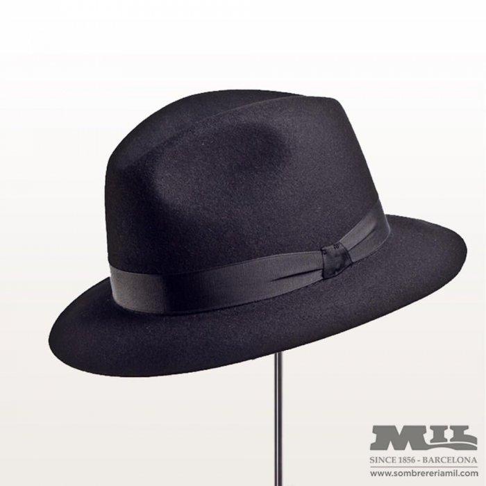 """Sombrero """"El Barrio"""" en fieltro de lana"""