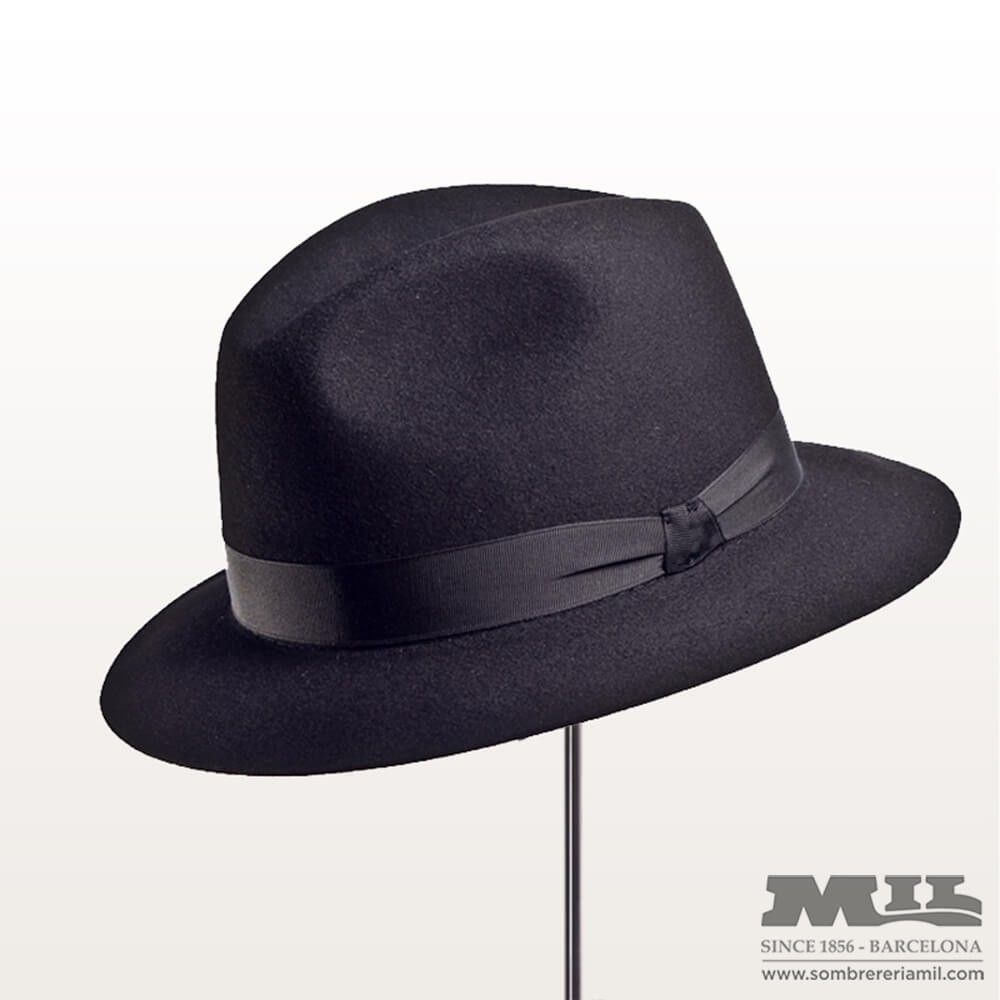 sombrero el barrio en fieltro de lana