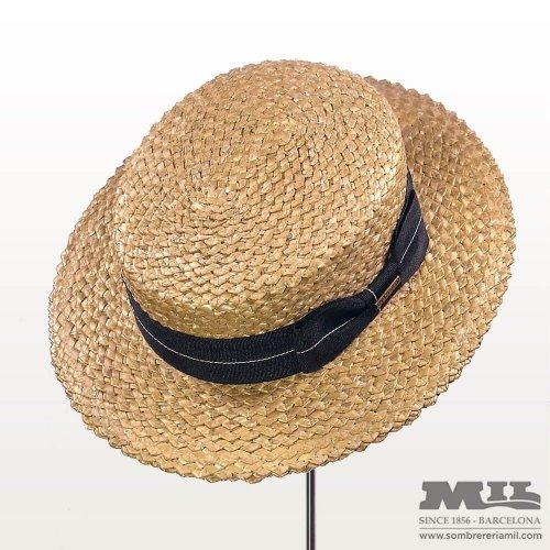 Canotier Stetson hat