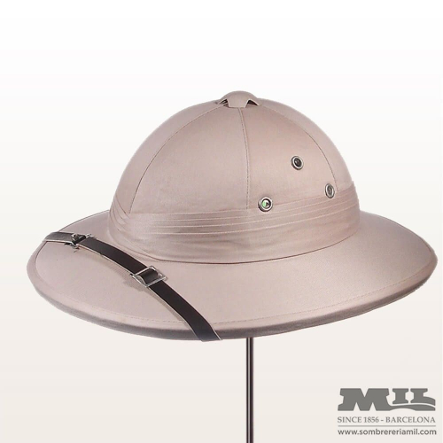 Salacot Colonial Hat