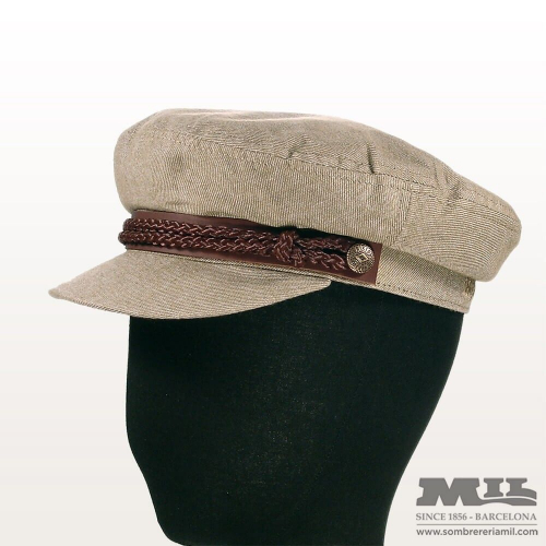 Sailor fiddler beige cap