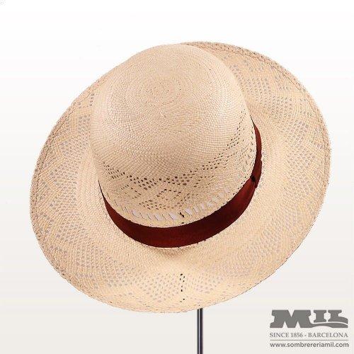 Panamá hat Open Crown