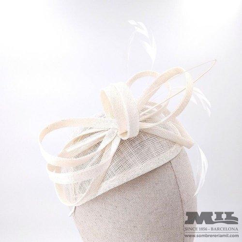 Headress for wedding Big Tie