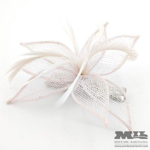 Headress for wedding Flor De Lis