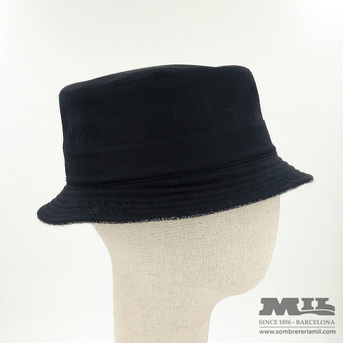 Black hat Tweed Verbano