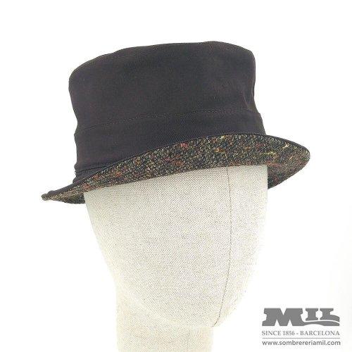 Barret marró Tweed Verbano