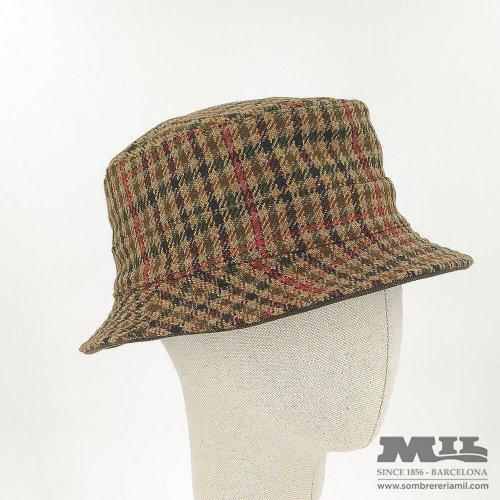 Sombrero cuadros Tweed Verbano