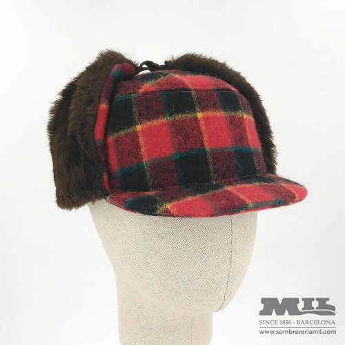 Plaid hat Tweed Verbano