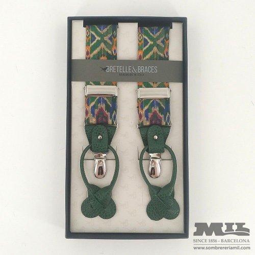 Tirantes Bretelle&Braces lengua verde