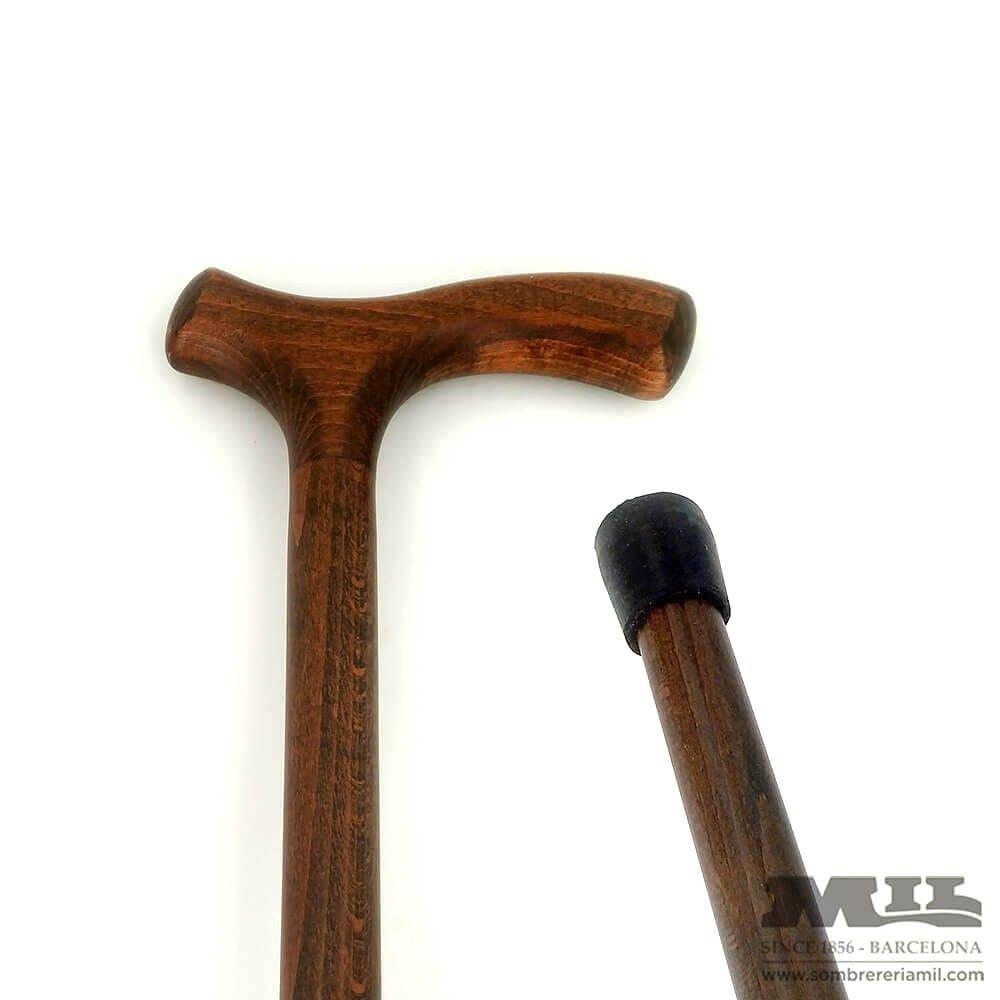 Bastó recte de fusta