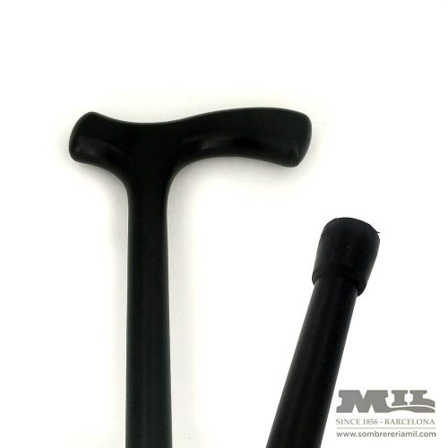 Straight black cane