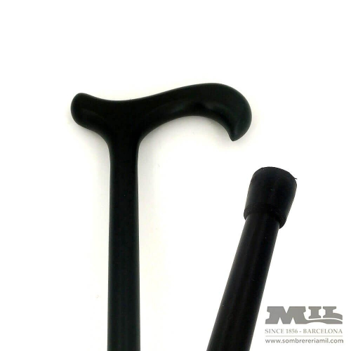 Hook black cane