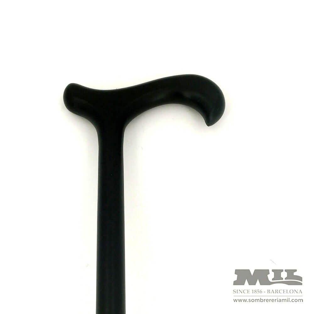 Hook black cane