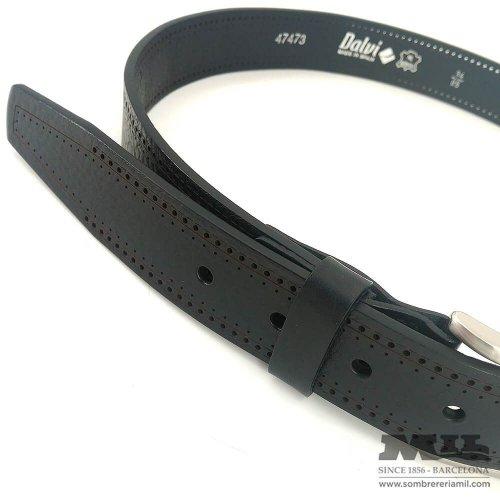 Dalvi belt with perforations