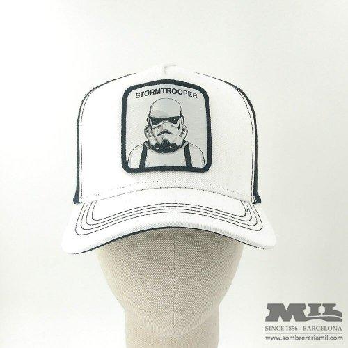 Trucker Stormtrooper White Cap