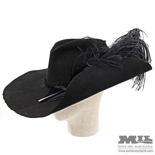 Sombrero Chambergo Diestro