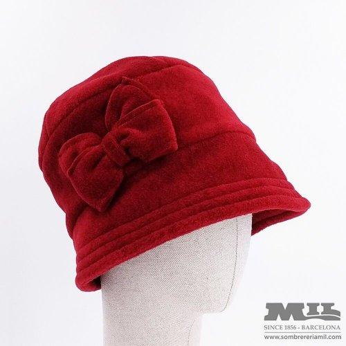 Cloché hat Fleece