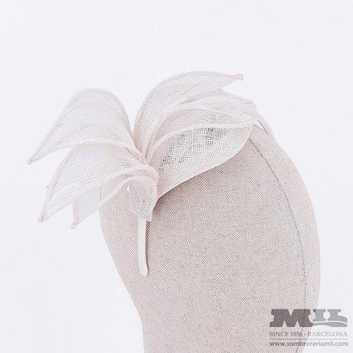 Tocado para boda Thin Feathers