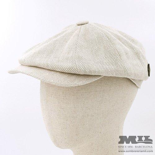 Gorra irlandesa blanca