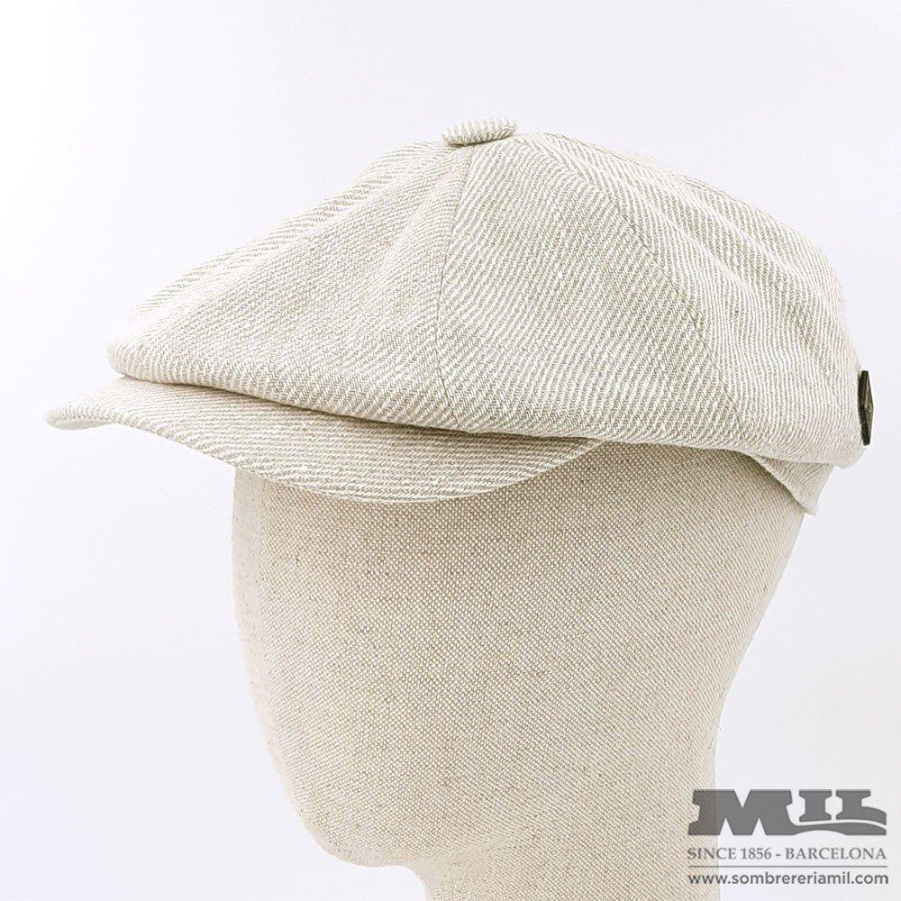 White Irish cap
