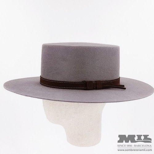 Cordovan hat Morente grey
