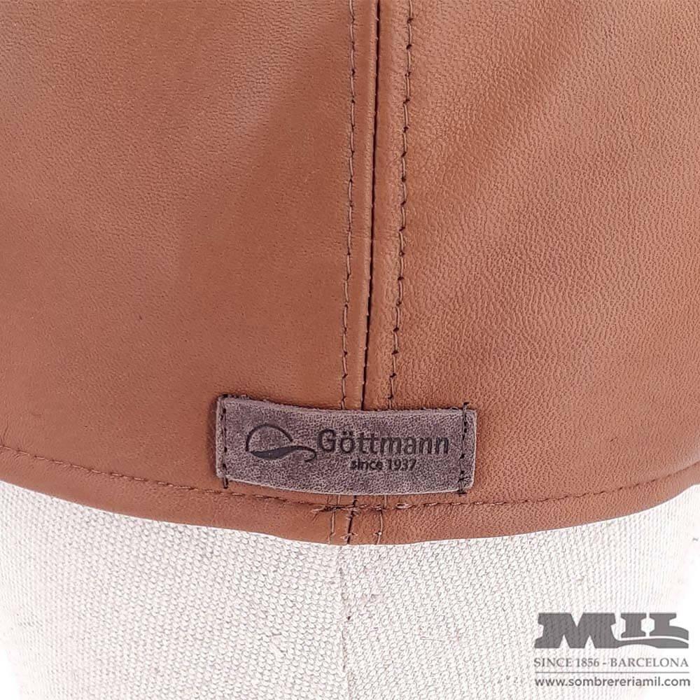 Leather Irish cap Princeton