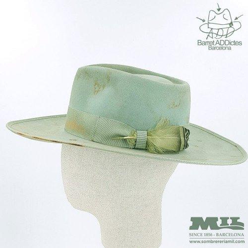 Sombrero de ala plana Vargas