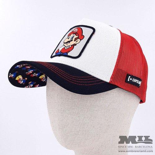Gorra Trucker Mario