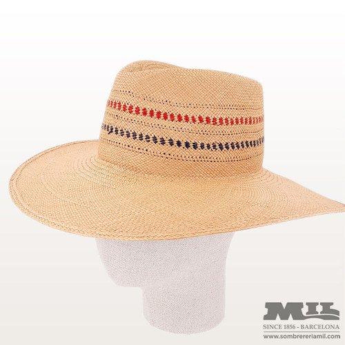 Pamela Panama Hat Iris