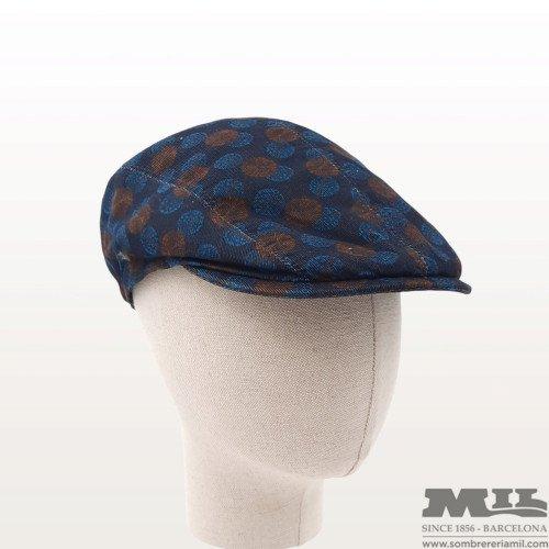 Molton printed Flatcap