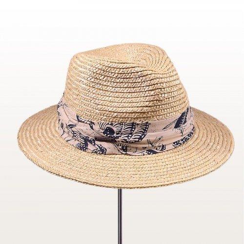 Sombrero playero Fedora Straw
